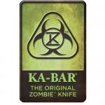 Ka-bar Knives Zombie Knife Sign